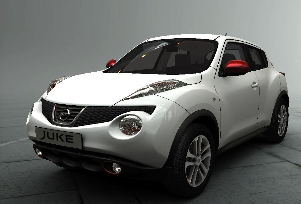 online parts store nissan juke personalisation force red pack 1 mirror cap foglamp rings. Black Bedroom Furniture Sets. Home Design Ideas