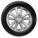 Nissan New Qashqai OE EUR 17'' alloy wheel with rubber valve - D03004EA1B