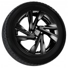 "Nissan New Note 16"" Black Alloy Wheel - KE4093V100BZ"
