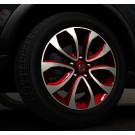 Nissan Juke Personalisation - Centre cap force red (NAH) - KE40900RED