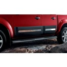Nissan NAVARA Side cladding upgrade (rear set DC) - KE760EB455