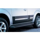 Nissan PATHFINDER Bumper Protection (black and paintable)  - Front Set - KE620EB520